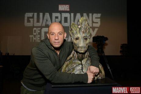 Vin Diesel Groot Guardians of the Galaxy