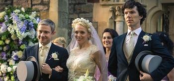 Benedict Cumberbatch Martin Freeman Sherlock The Sign of Three