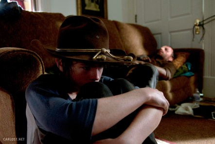 Chandler Riggs Andrew Lincoln The Walking Dead After