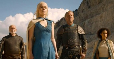 Emilia Clarke Iain Glen Nathalie Emannuel Game of Thrones