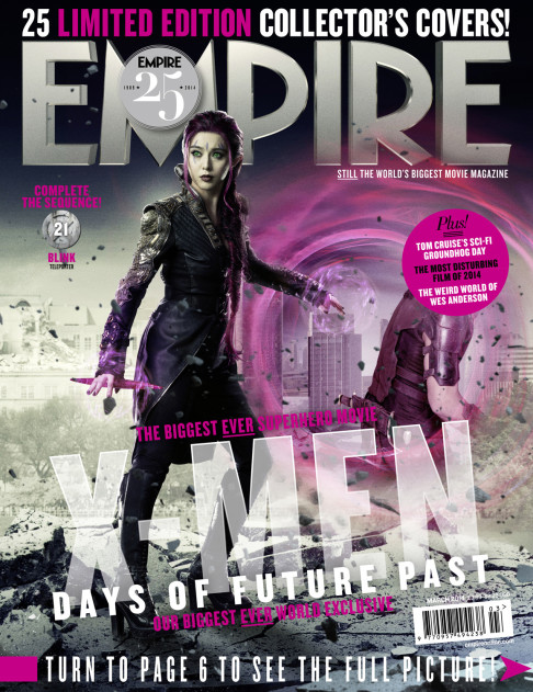 X-Men: Days of Future Past Empire cover 21 Blink