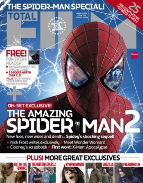The Amazing Spider-Man 2 Total Film magazine