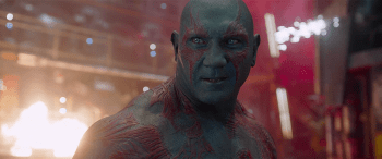 Dave Bautista Guardians of the Galaxy