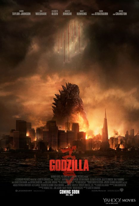 Godzilla movie poster 4