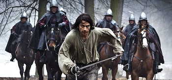 Luke Pasqualino The Musketeers Sleight of Hand