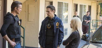 Timothy Olyphant Jacob Pitts Justified Raw Deal