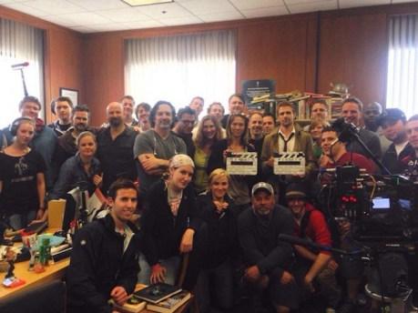 Constantine NBC crew
