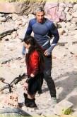Elizabeth Olsen Aaron Taylor-Johnson The Avengers Age of Ultron