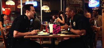 Jake Johnson Damon Wayans Jr Lets Be Cops