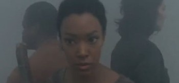 Lawrence Gilliard Jr. Sonequa Martin-Green Lauren Cohan The Walking Dead Alone