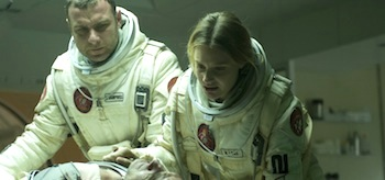Liev Schreiber Romola Garai The Last Days on Mars