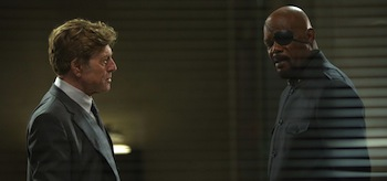 Samuel L Jackson Robert Redford Captain America The Winter Soldier