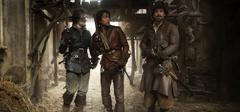 Santiago Cabrera Tom Burke Luke Pasqualino The Musketeers The Homecoming