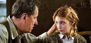 Sophie Nelisse Geoffrey Rush The Book Thief