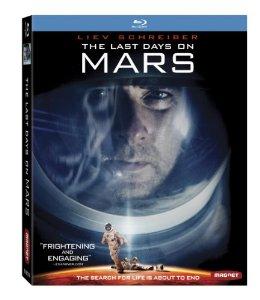 The Last Days on Mars Bluray