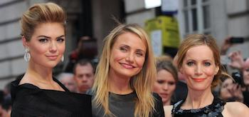 Cameron Diaz Leslie Mann Kate Upton The Other Woman London Premiere