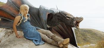 Emilia Clarke Game of Thrones Two Swords