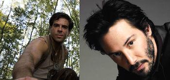 Keanu Reeves Eli Roth