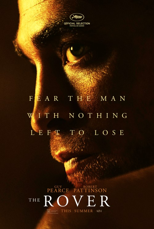 Robert Pattinson The Rover movie poster