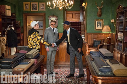Taron Egerton Colin Firth Samuel L. Jackson Kingsman: The Secret Service