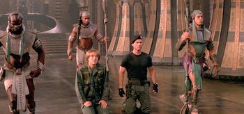 Kurt Russell James Spader Stargate