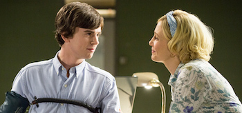 Vera Farmiga Freddie Highmore Bates Motel The Immutable Truth