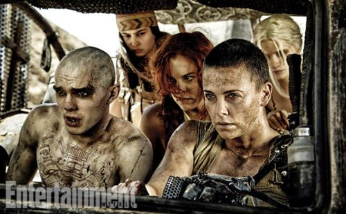 Abbey Lee Kershaw Nicholas Hoult Charlize Theron Mad Max Fury Road