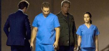 Jai Courtney Arnold Schwarzenegger Jason Clarke Emilia Clarke Terminator Genesis