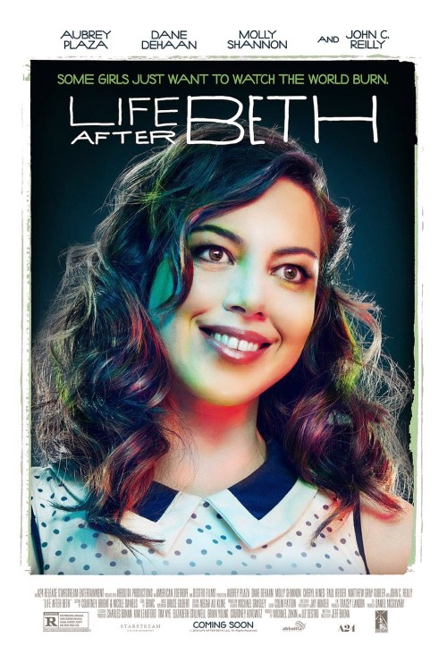 Aubrey Plaza Life After Beth movie poster