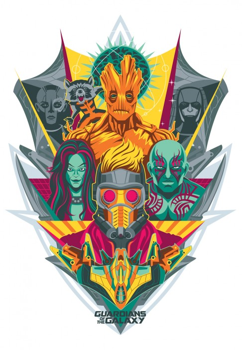 Guardians of the Galaxy Chad Woodward