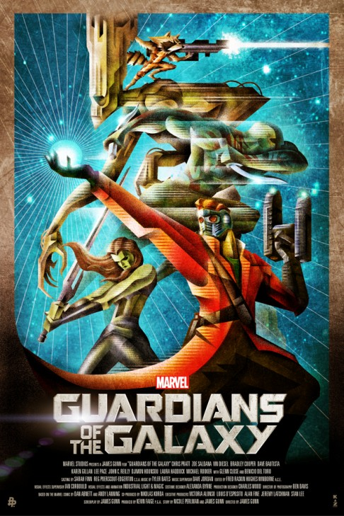 Guardians of the Galaxy Kaz Oomori