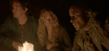 Thomas McDonell Eliza Taylor Ricky Whittle The 100: We are Grounders Pt. 1