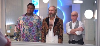 Clark Duke Craig Robinson Rob Corddry Hot Tub Time Machine 2