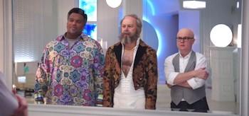 Clark Duke Craig Robinson Rob Corddry Hot Tub Time Machine 2