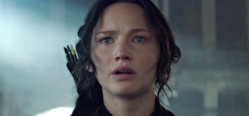 Jennifer Lawrence The Hunger Games Mockingjay Part 1
