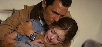 Matthew McConaughey Mackenzie Foy Interstellar