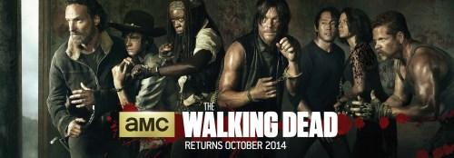 The Walking Dead Season 5 TV show banner