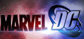 Marvel DC Comics Logo