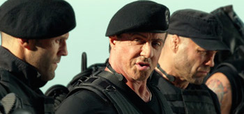 Sylvester Stallone Jason Statham The Expendables 3