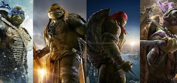 Teenage Mutant Ninja Turtles Movie Posters