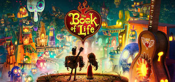 The Book of Life Movie Banner