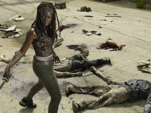 Danai Gurira The Walking Dead No Sanctuary
