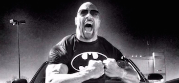 Dwayne Johnson Batman Tshirt