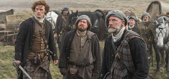 Graham McTavish Sam Heughan Outlander Rent