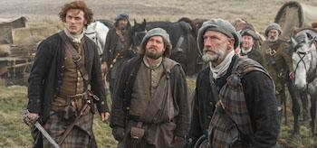 Graham McTavish Sam Heughan Outlander Rent