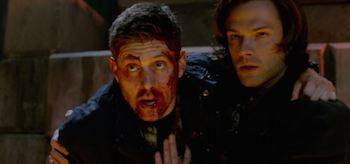 Jared Padalecki Jensen Ackles Supernatural Do You Believe in Miracles