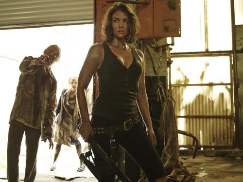 Lauren Cohan The Walking Dead Season 5