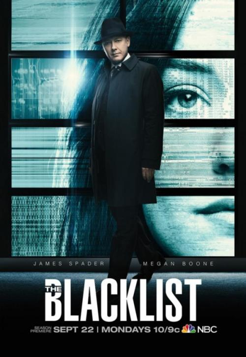 The Blacklist Season 2 TV show poster