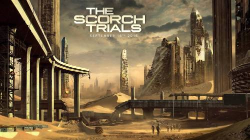 The Scorch Trials Movie Poster Concept Art