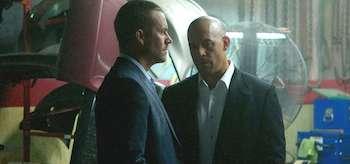 Vin Diesel Paul Walker Furious 7